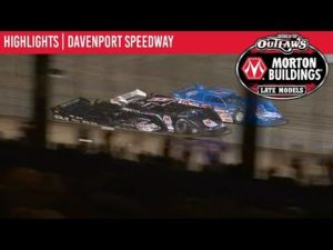 World of Outlaws Morton Buildings Late Models Davenport Speedway July 24th, 2019 | HIGHLIGHTS