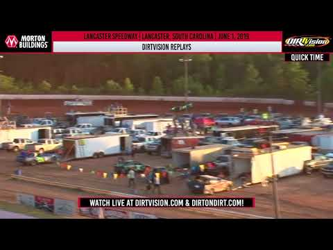 World of Outlaws Morton Buildings Late Models Lancaster Speedway, June 1, 2019 DIRTVISION REPLAY