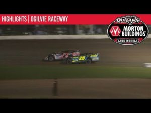 World of Outlaws Morton Buildings Late Models Ogilvie Raceway July 13th, 2019 | HIGHLIGHTS