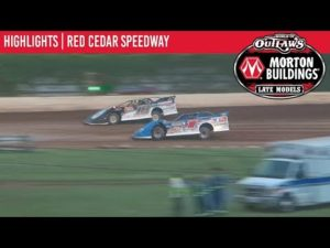 World of Outlaws Morton Buildings Late Models Red Cedar Speedway July 14th, 2019   HIGHLIGHTS