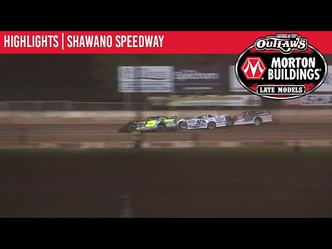 World of Outlaws Morton Buildings Late Models Shawano Speedway July 30th, 2019 | HIGHLIGHTS