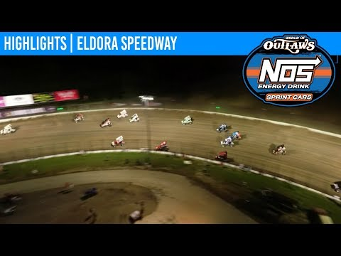 World of Outlaws NOS Energy Drink Sprint Cars Eldora Speedway, July 17th, 2019 | HIGHLIGHTS