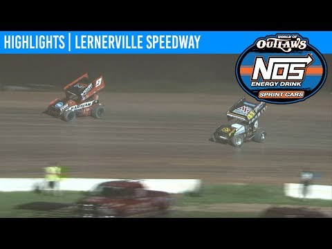 World of Outlaws NOS Energy Drink Sprint Cars Lernerville Speedway, July 23rd, 2019 | HIGHLIGHTS