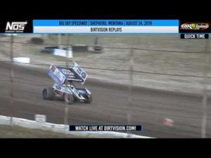 DIRTVISION REPLAYS | Big Sky Speedway August 24th, 2019