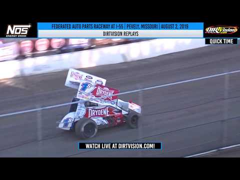 DIRTVISION REPLAYS | Federated Auto Parts Raceway at I-55 August 2, 2019