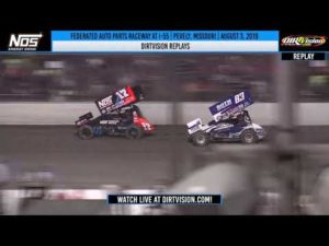 DIRTVISION REPLAYS   Federated Auto Parts Raceway at I-55 August 3, 2019