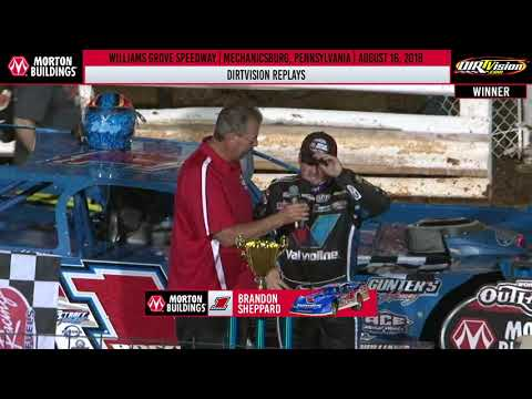 DIRTVISION REPLAYS | Williams Grove Speedway August 16th, 2019