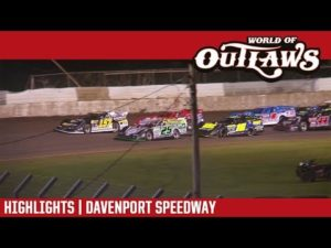 World of Outlaws Craftsman Late Models Davenport Speedway July 24, 2018 | HIGHLIGHTS