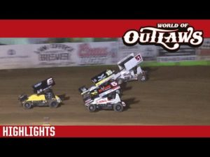 World of Outlaws Craftsman Sprint Cars Lincoln Park Speedway June 8th, 2016   HIGHLIGHTS
