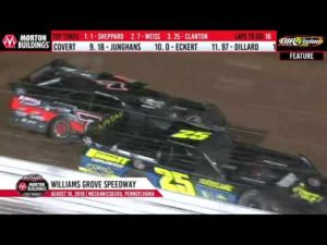 World of Outlaws Late Models Williams Grove Speedway, Aug 16th, 2019   HIGHLIGHTS