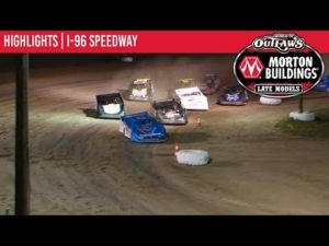 World of Outlaws Morton Buildings Late Models I-96 Speedway, August 29th, 2019 | HIGHLIGHTS
