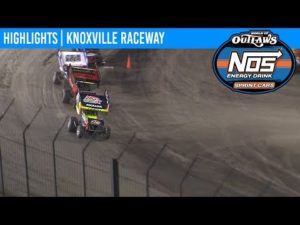 World of Outlaws NOS Energy Drink Sprint Cars Knoxville Raceway, August 10, 2019   HIGHLIGHTS