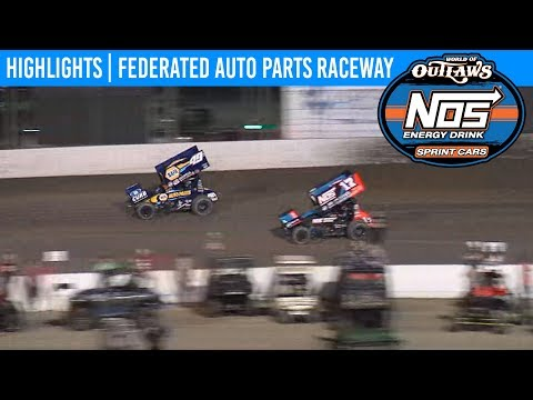 World of Outlaws NOS Energy Drink Sprint Cars Pevely, Missouri, August 2, 2019 | HIGHLIGHTS