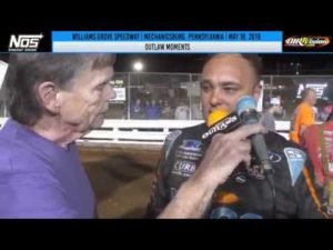 World of Outlaws NOS Energy Drink Sprint Cars Williams Grove Speedway May 18, 2019 | OUTLAW MOMENTS
