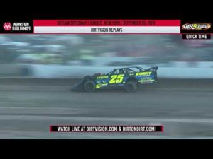 DIRTVISION REPLAYS   Outlaw Speedway September 20th, 2019