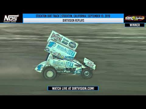 DIRTVISION REPLAYS | Stockton Dirt Track September 13th, 2019