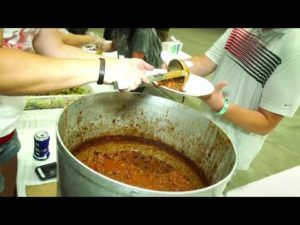 Late Nights with NOS Energy Drink   Gold Cup Chili Feed