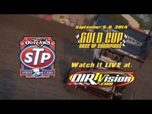 LIVE on DIRTVision.com: Gold Cup Race of Champions   September 5-6, 2014
