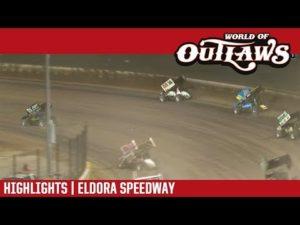 World of Outlaws Craftsman Sprint Cars Eldora Speedway October 14, 2018 | HIGHLIGHTS