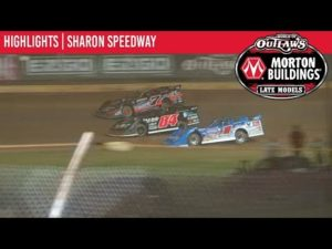 World of Outlaws Morton Buildings Late Models Sharon Speedway, August 30th, 2019   HIGHLIGHTS