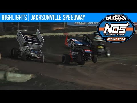 World of Outlaws NOS Energy Drink Sprint Cars Jacksonville Speedway, Sept 25th, 2019 | HIGHLIGHTS
