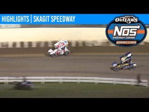 World of Outlaws NOS Energy Drink Sprint Cars Skagit Speedway, August 31st, 2019   HIGHLIGHTS