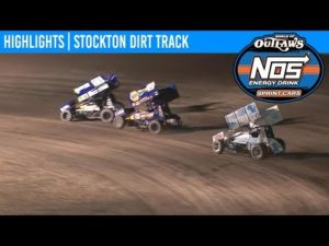 World of Outlaws NOS Energy Drink Sprint Cars Stockton Dirt Track, September 13th, 2019 | HIGHLIGHTS