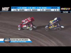 World of Outlaws NOS Energy Sprint Cars Silver Dollar Speedway, September 6th, 2019 | HIGHLIGHTS