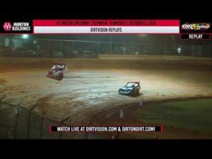 DIRTVISION REPLAYS   411 Motor Speedway October 5th, 2019