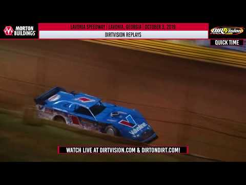 DIRTVISION REPLAYS | Lavonia Speedway October 3rd, 2019