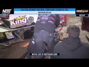 DIRTVISION REPLAYS   Port Royal Speedway October 25th, 2019