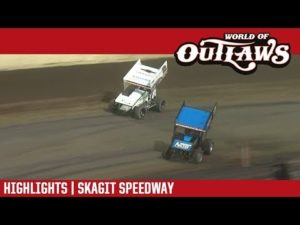 World of Outlaws Craftsman Sprint Cars Skagit Speedway August 31, 2018   HIGHLIGHTS