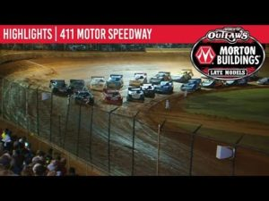 World of Outlaws Morton Buildings Late Models 411 Motor Speedway, October 5th, 2019   HIGHLIGHTS