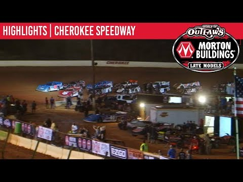 World of Outlaws Morton Buildings Late Models Cherokee Speedway, October 4th, 2019 | HIGHLIGHTS