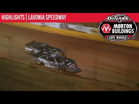 World of Outlaws Morton Buildings Late Models Lavonia Speedway, October 3rd, 2019 | HIGHLIGHTS