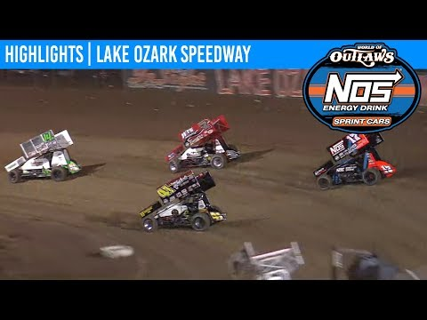 World of Outlaws NOS Energy Drink Sprint Cars Lake Ozark Speedway, October 19th, 2019 | HIGHLIGHTS