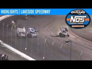 World of Outlaws NOS Energy Drink Sprint Cars Lakeside Speedway, October 18th, 2019   HIGHLIGHTS