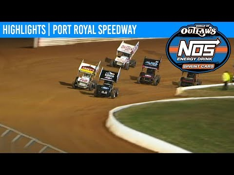 World of Outlaws NOS Energy Drink Sprint Cars Port Royal Speedway, October 25th, 2019 | HIGHLIGHTS