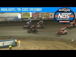 World of Outlaws NOS Energy Drink Sprint Cars Tri-State Speedway, October 13th, 2019   HIGHLIGHTS