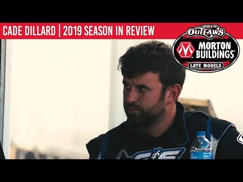 Cade Dillard | 2019 World of Outlaws Morton Buildings Late Model Series Season In Review
