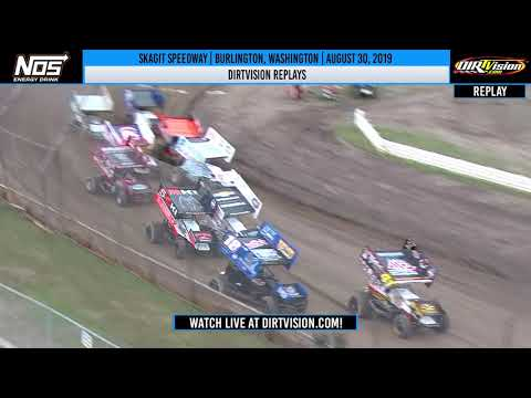 DIRTVISION REPLAYS | Skagit Speedway August 30th, 2019