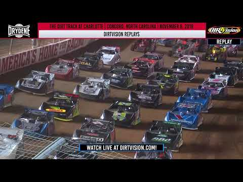 DIRTVISION REPLAYS | The Dirt Track at Charlotte November 8th, 2019