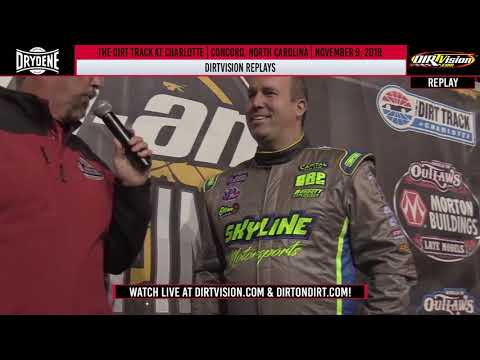 DIRTVISION REPLAYS | The Dirt Track at Charlotte November 9th, 2019