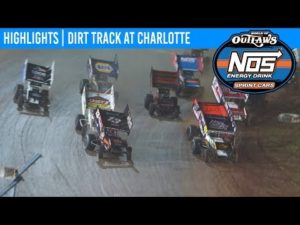 World of Outlaws NOS Energy Drink Sprint Cars Dirt Track at Charlotte, November 8, 2019 | HIGHLIGHTS