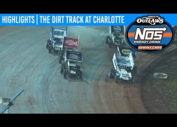 World of Outlaws NOS Energy Sprint Cars The Dirt Track at Charlotte, Nov 9th, 2019   HIGHLIGHTS