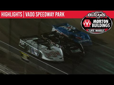 World of Outlaws Morton Buildings Late Models Vado Speedway Park, January 3, 2020 | HIGHLIGHTS