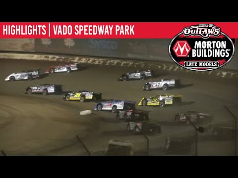 World of Outlaws Morton Buildings Late Models Vado Speedway Park, January 4, 2020 | HIGHLIGHTS