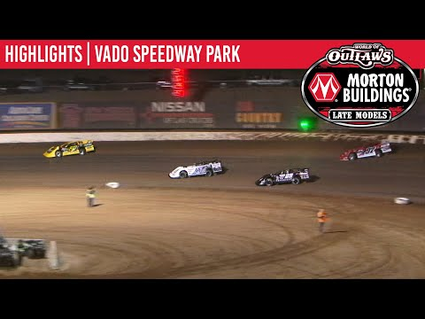 World of Outlaws Morton Buildings Late Models Vado Speedway Park, January 5, 2020 | HIGHLIGHTS