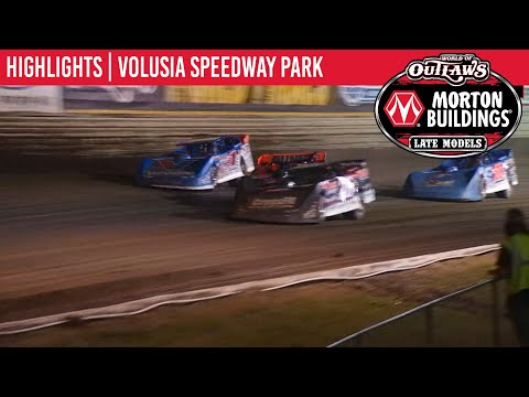 World of Outlaws Morton Buildings Late Models Volusia Speedway Park, February 12, 2020 | HIGHLIGHTS