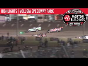 World of Outlaws Morton Buildings Late Models Volusia Speedway Park, February 14, 2020 | HIGHLIGHTS